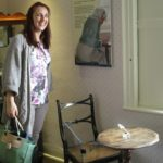 Jane Austen's Writing Desk... and me.