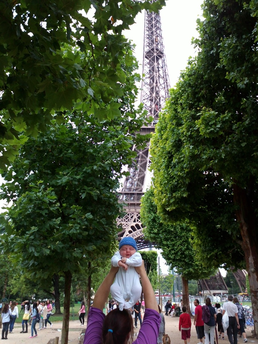 our paris baby