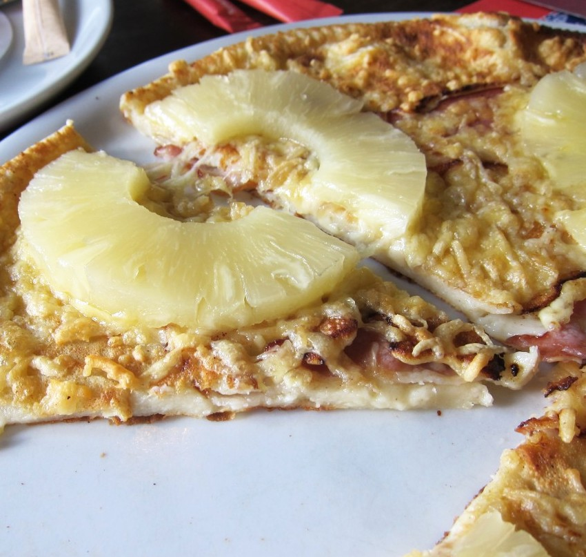 pizza pancake!