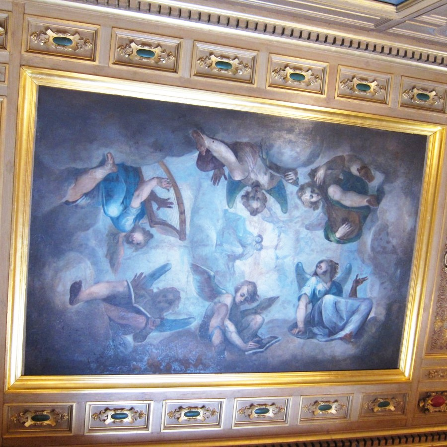 Paintings on the ceilings