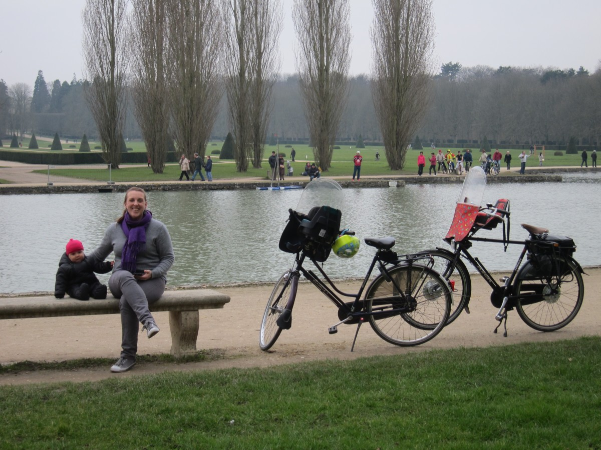Bike ride to Parc de Sceaux
