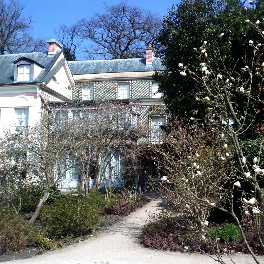 springtime at maison de chateaubriand