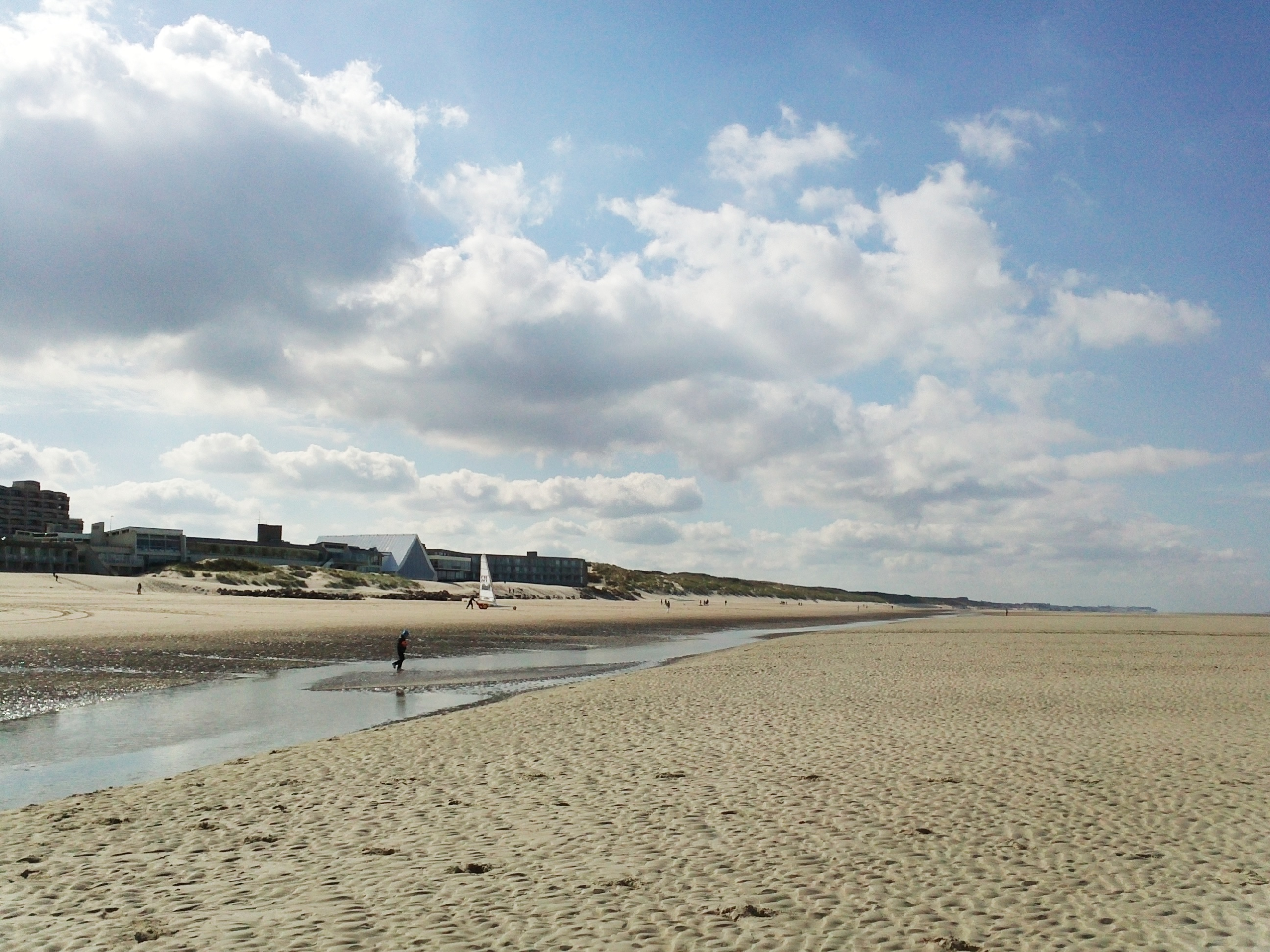 hotels on the beach at Le Touquet