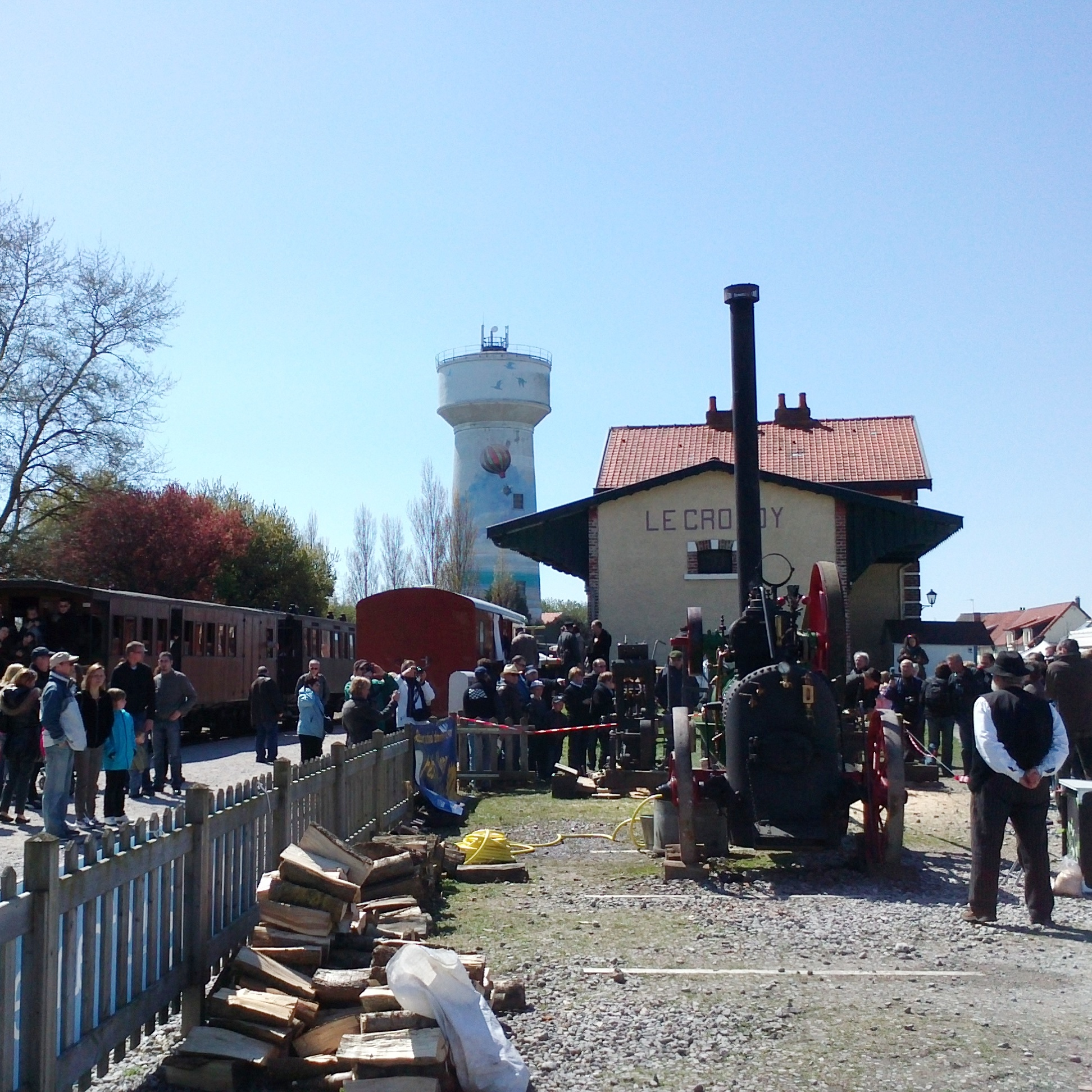 Festival of Steam, Le Crotoy, 2013
