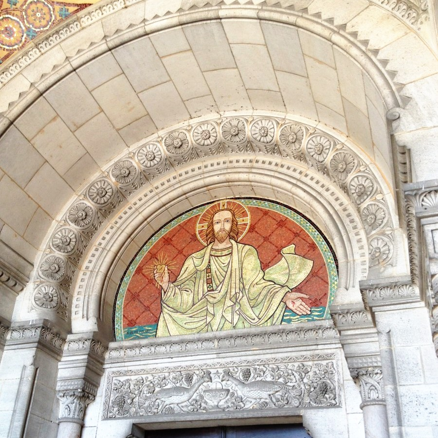 Mosaics at Basilica in Albert