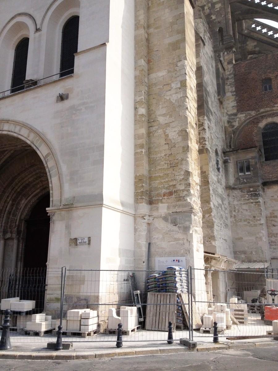 Basilica at Saint Quentin, France