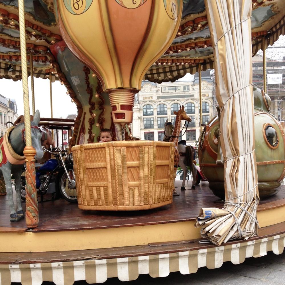 Jules Verne Carousel, Saint Quentin