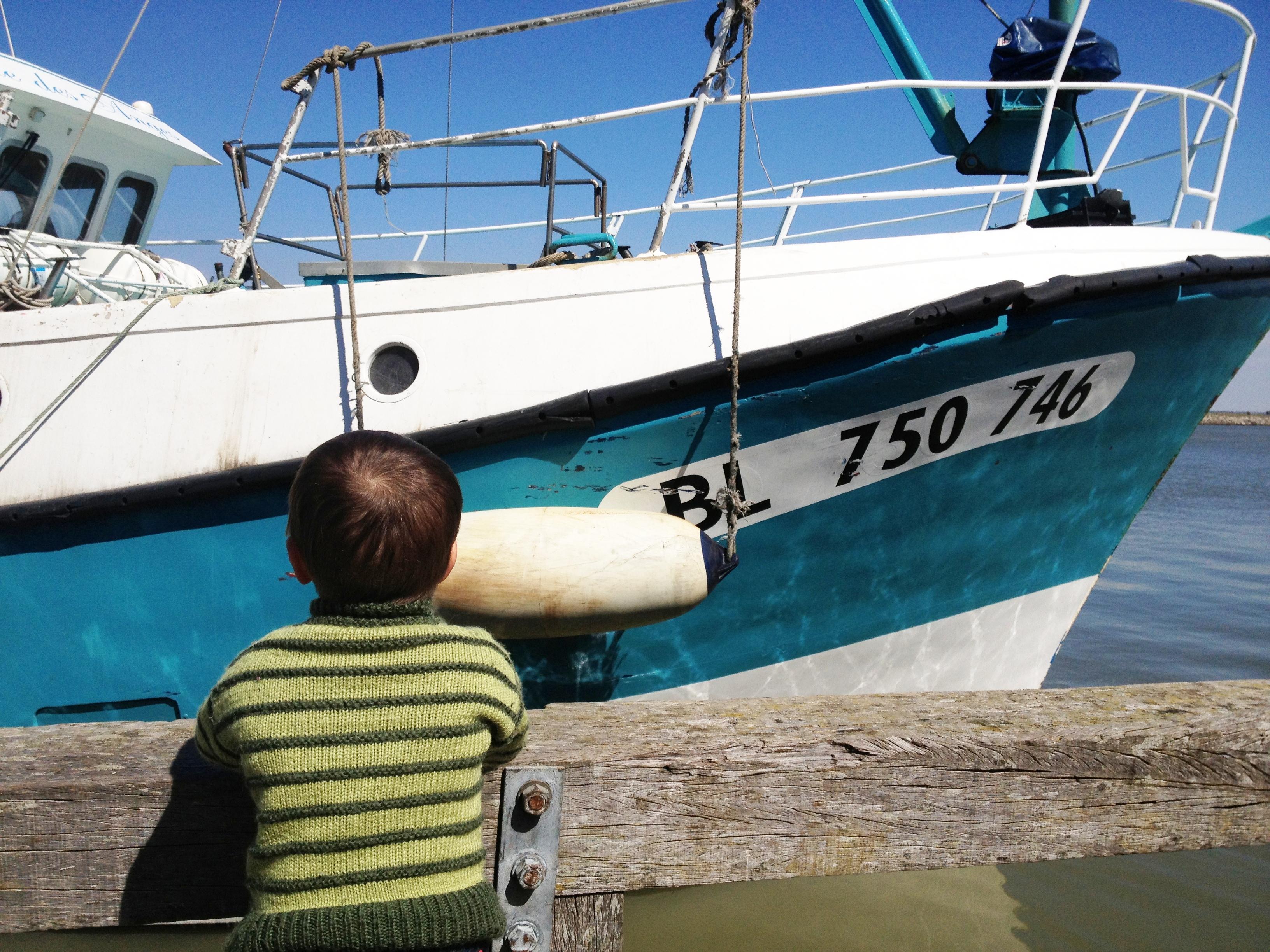 fishing boat at Le Crotoy