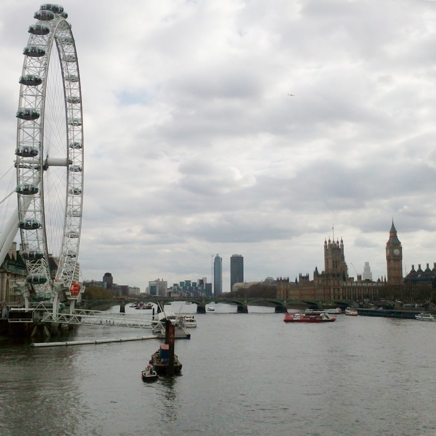 London Eye, Westminster, Thames