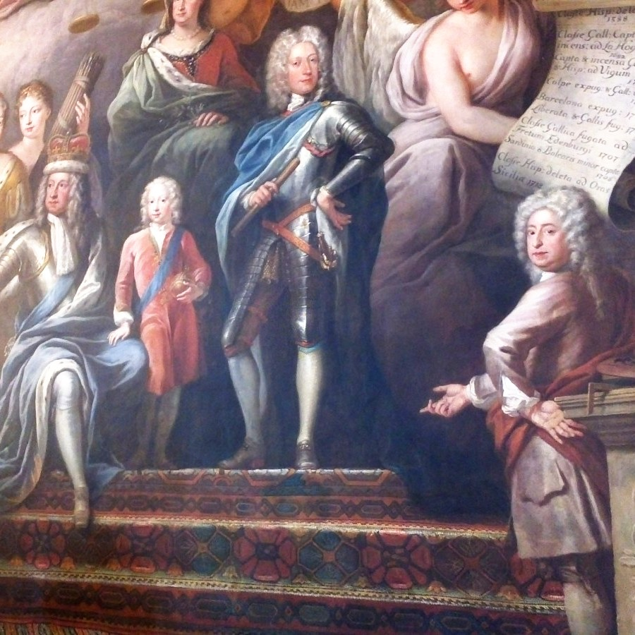 The painter of the Painted Hall, Greenwich