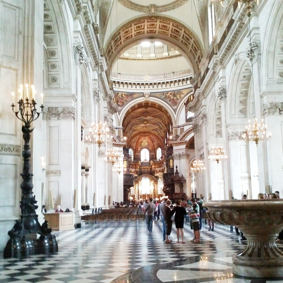 inside St Paul's
