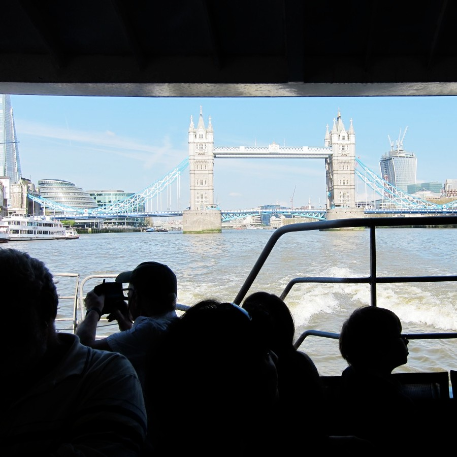 View from the Thames Ferry