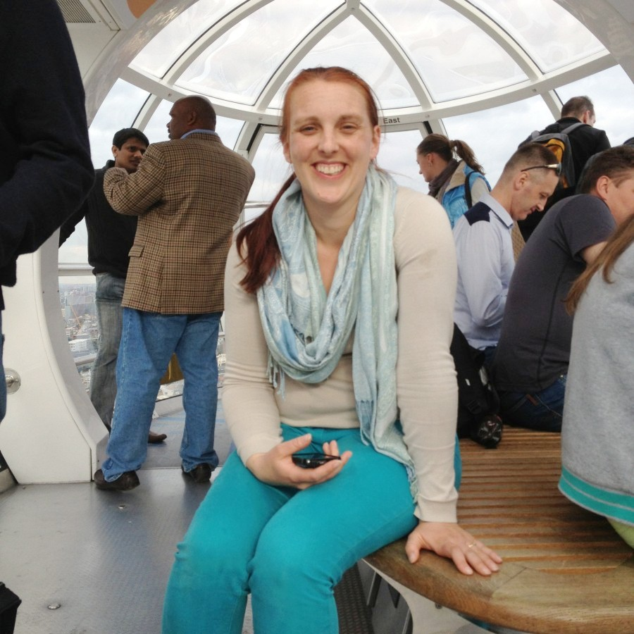 me, on the London Eye