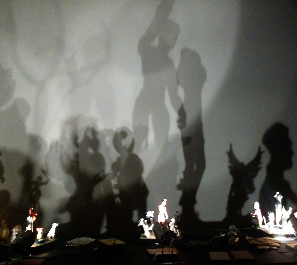 shadow art at centre pompidou