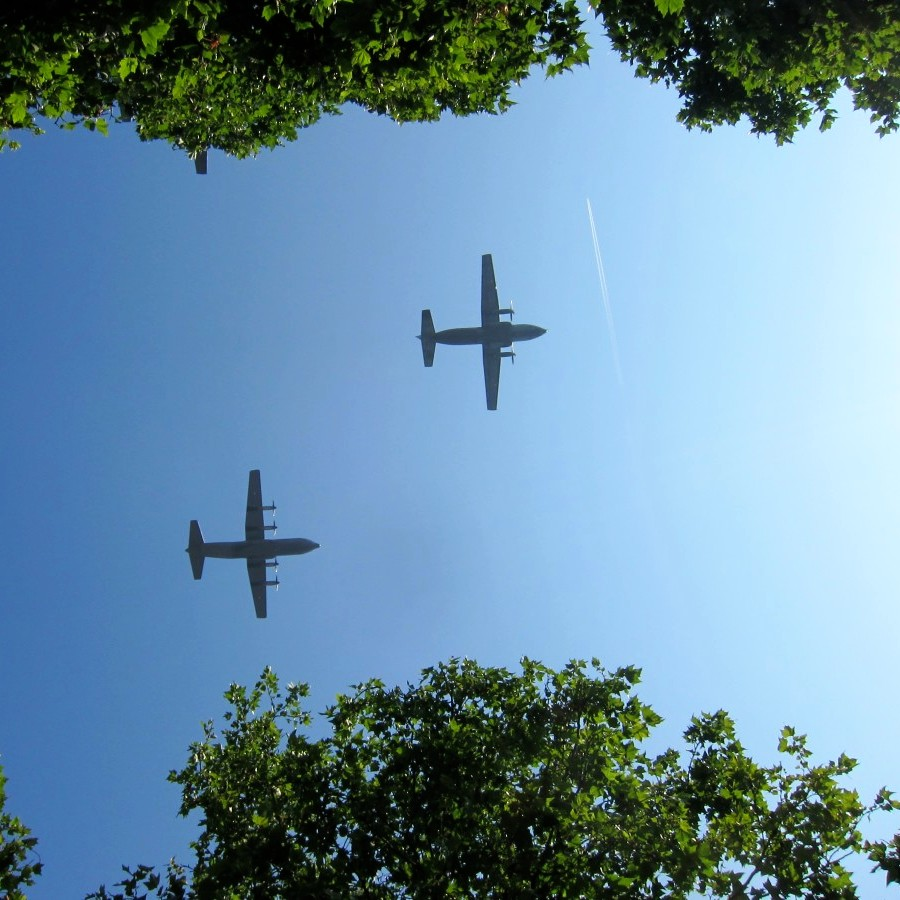 fly over, 14 Juillet, 2013