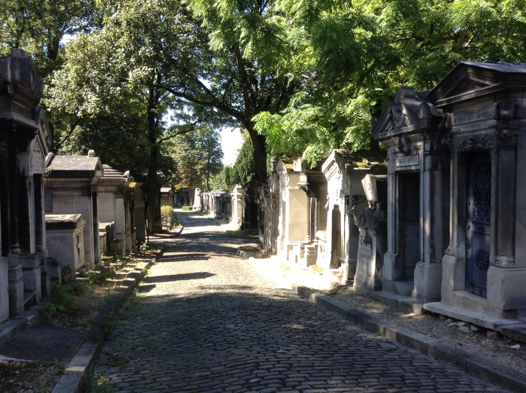 Pere-Lachaise cemetary, Paris