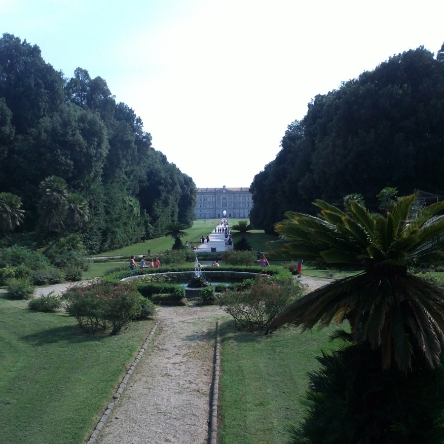 the gardens and palace at caserta