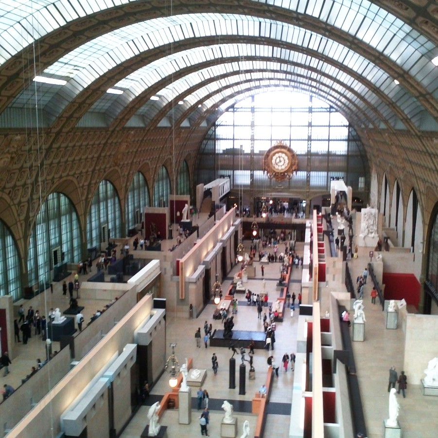 view inside musee d'orsay