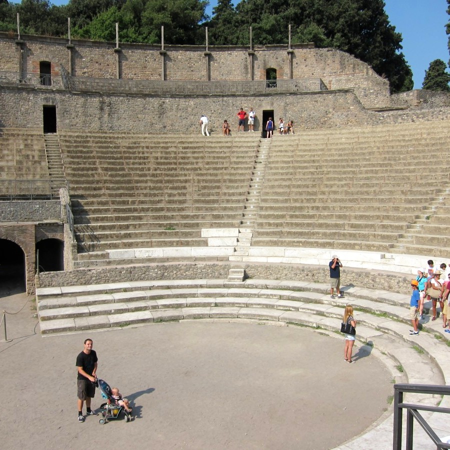 theatre at pompeii