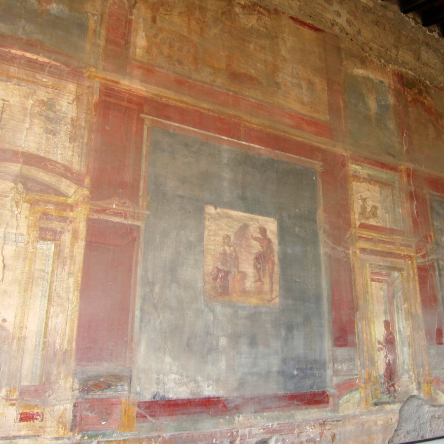 frescoes, at pompeii