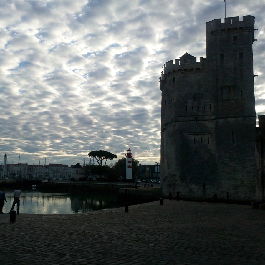 morning at la rochelle harbour