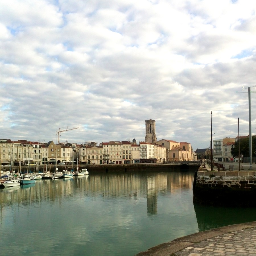 inner harbour at la rochelle