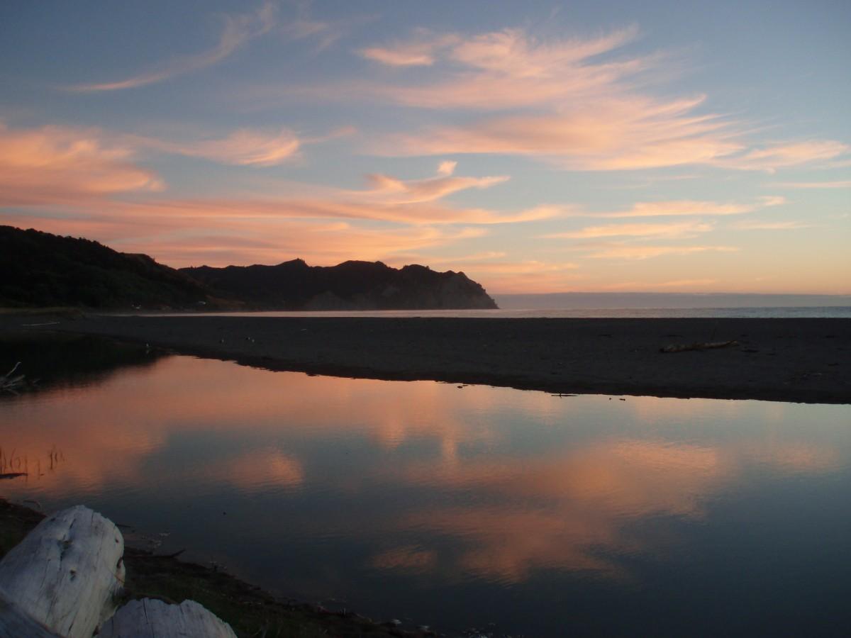 east coast, nz, dawn