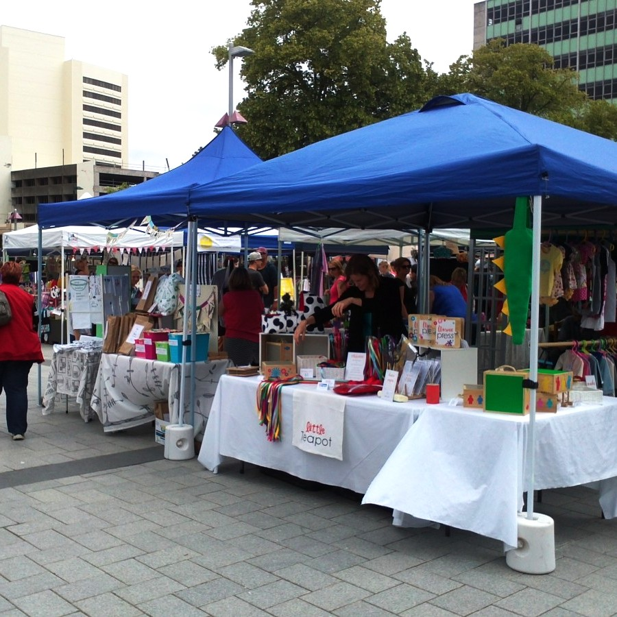 encraftment market, cathedral square, christchurch 2013