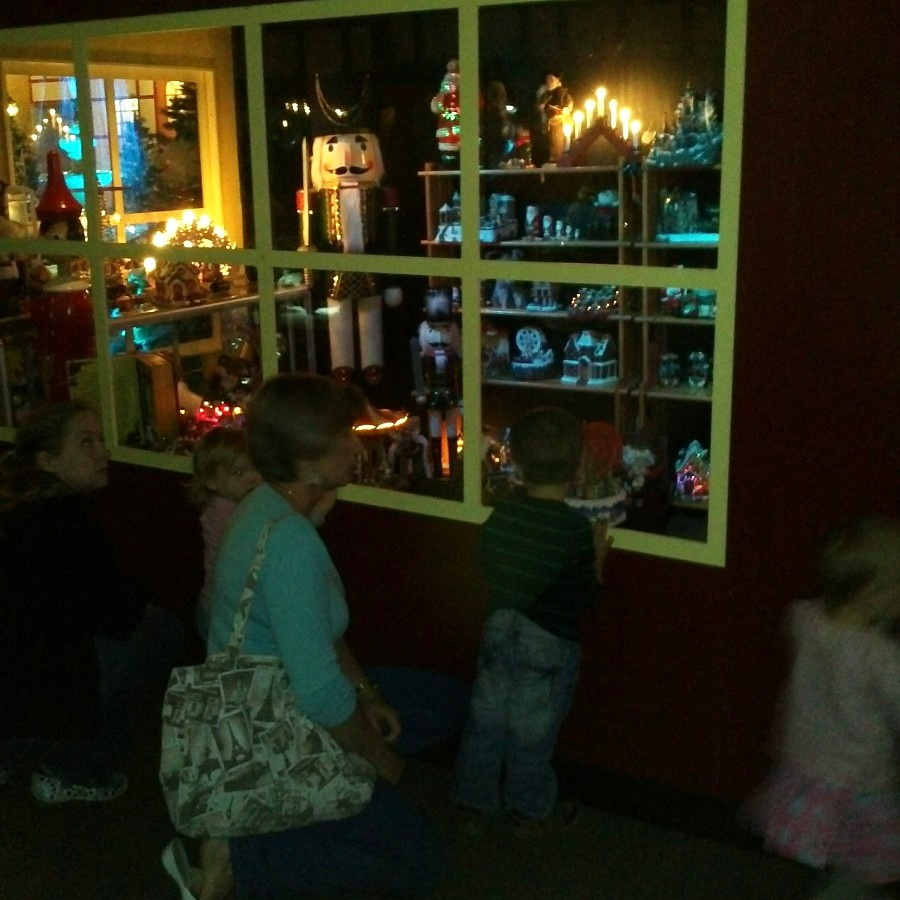 christmas grotto, spreydon, 2013