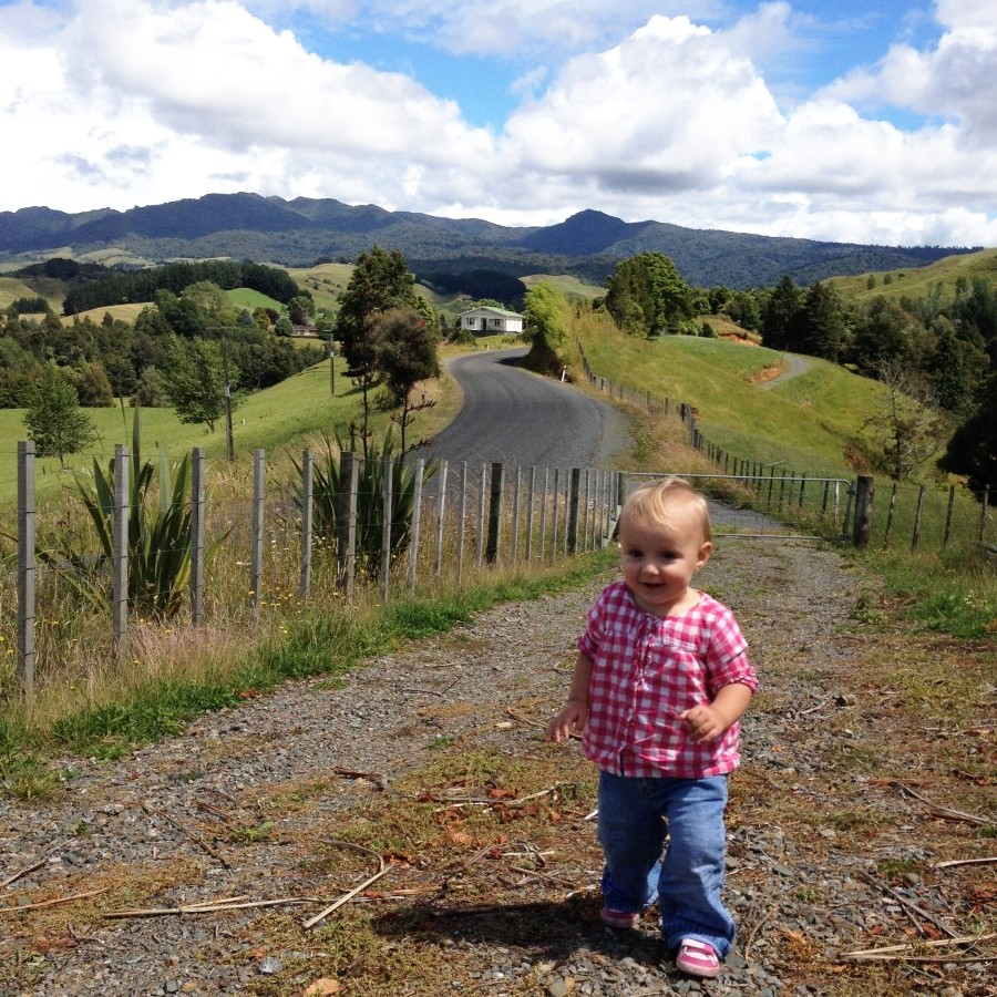 elena and Mt Pirongia