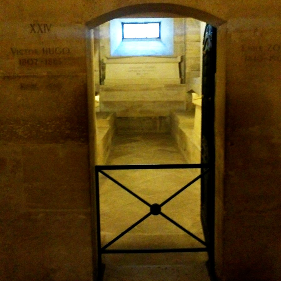 writers tombs at the paris pantheon