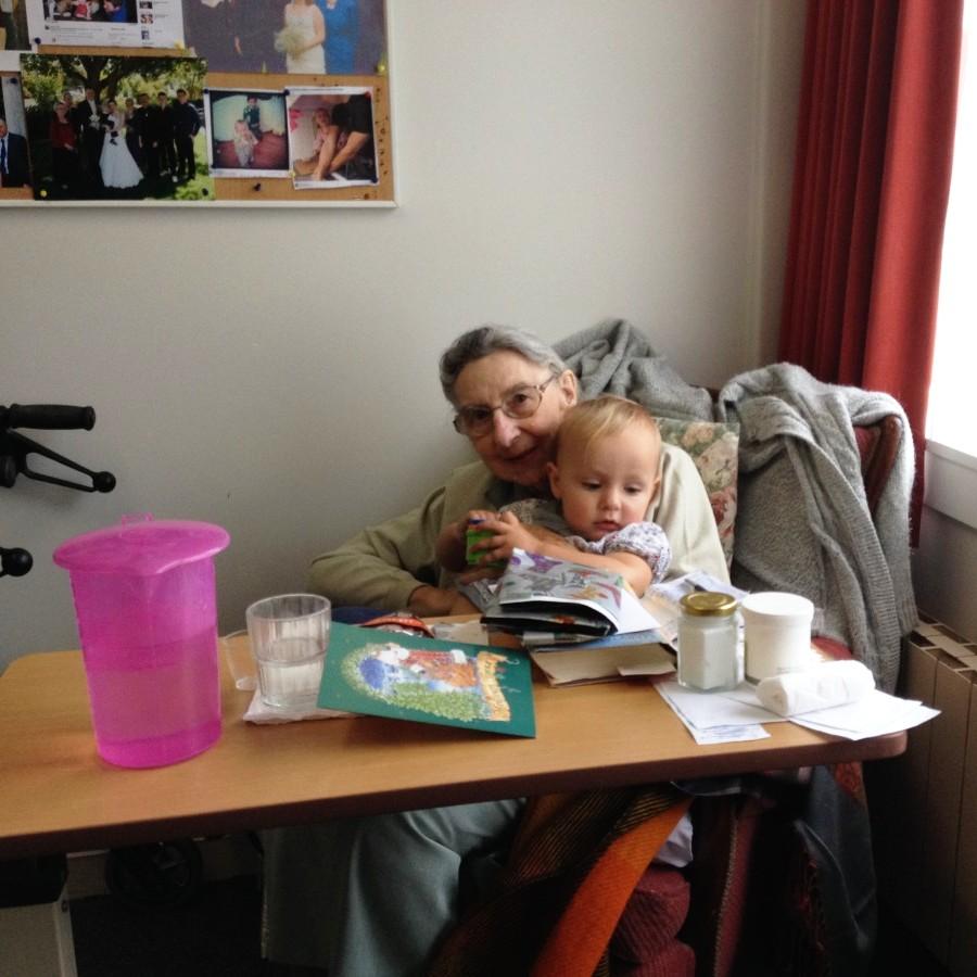 Grandma and Elena
