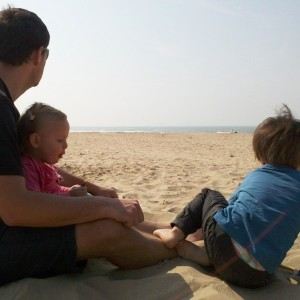 luuk and kids at calais