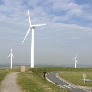 windmills in baie de somme