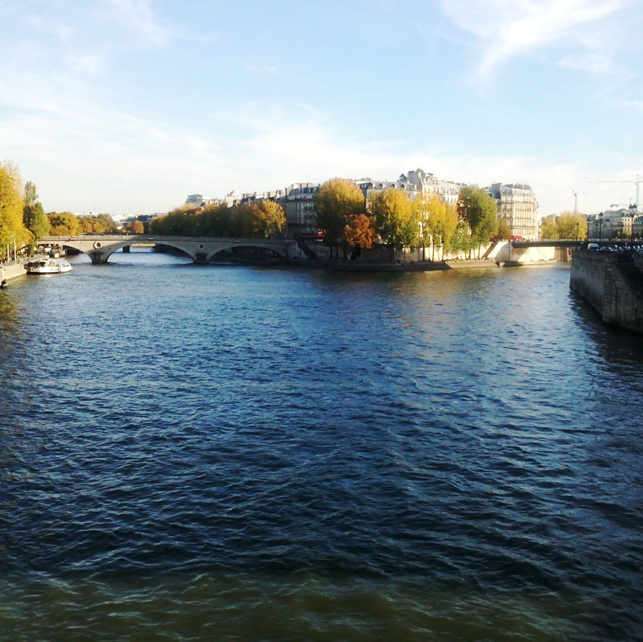 autumn on the seine