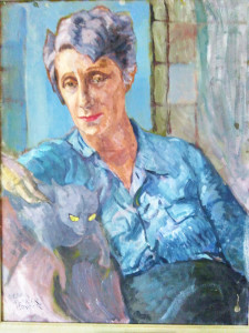 A portrait of Ngaio Marsh