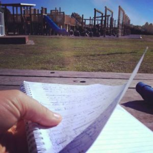 playground writing